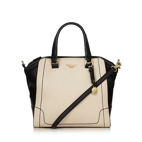 Fiorelli - Cream winged colour block tote bag