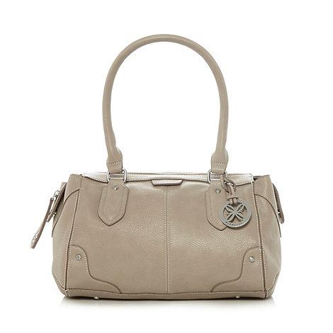 Fiorelli - Beige grained charm grab bag