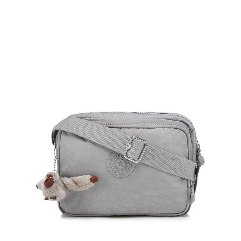 Kipling - Grey Silen Cross Body Bag
