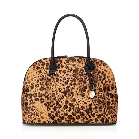 Fiorelli - Brown animal print kettle shoulder bag