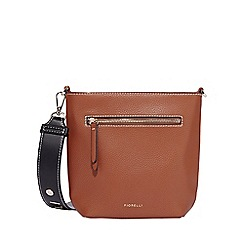 Fiorelli - Tan zeplin bucket crossbody bag