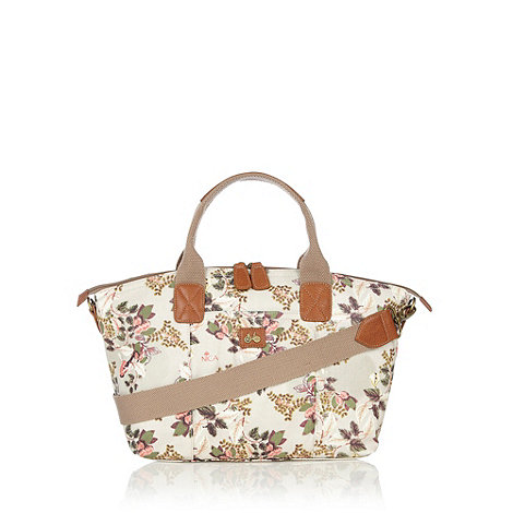 Nica - Off white botanical large grab bag