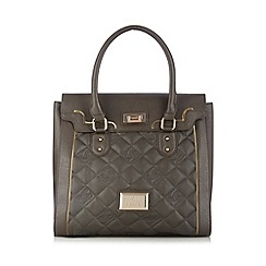 Lipsy - Grey quilted tote bag