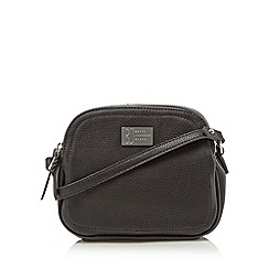 Betty Jackson.Black - Designer black pebble grain cross body bag