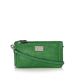 Betty Jackson.Black - Designer green pocket organiser bag