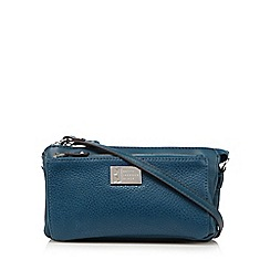 Betty Jackson.Black - Teal cross body bag