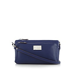 Betty Jackson.Black - Designer navy pocket organiser bag