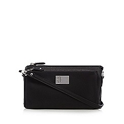 Betty Jackson.Black - Black pocket clutch bag