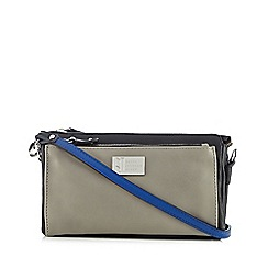 Betty Jackson.Black - Designer black zip pocket clutch bag