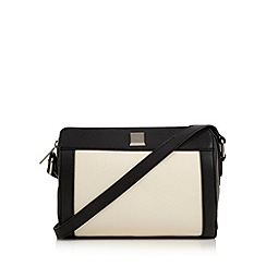 The Collection - Cream monochrome cross body bag
