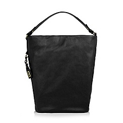 The Collection - Black slouch hobo bag