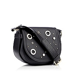 The Collection - Black quilted cross body bag