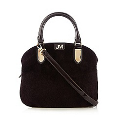 Star by Julien Macdonald - Purple faux pony dome bag