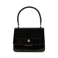 Principles by Ben de Lisi - Designer black patent bow grab bag
