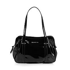 RJR.John Rocha - Designer black patent shoulder bag