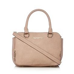 RJR.John Rocha - Designer pale pink suedette gusset grab bag