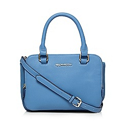 RJR.John Rocha - Designer blue small triple compartment grab bag