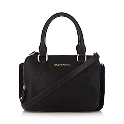 RJR.John Rocha - Designer black suedette grab bag