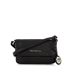 RJR.John Rocha - Designer black leather small cross body bag