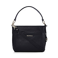 RJR.John Rocha - Designer navy leather shoulder bag