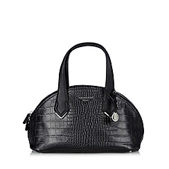 Fiorelli - Black mock croc curved shoulder bag