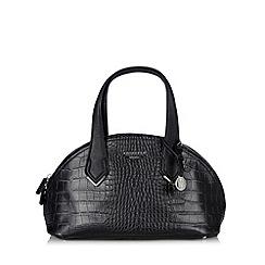 Fiorelli - Black mock croc curved shoulder bag