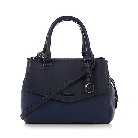 Fiorelli Navy colour block three part grab bag