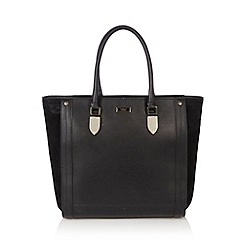 Fiorelli - Black zip fastening tote bag