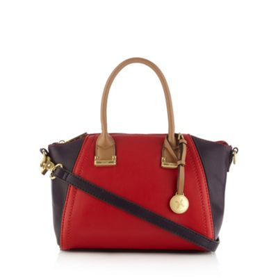 Fiorelli Red colour block winged grab bag - One Size.  Size - One Size