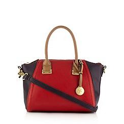 Fiorelli - Red colour block winged grab bag