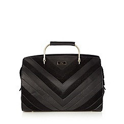 Fiorelli - Black contrast chevron panel grab bag