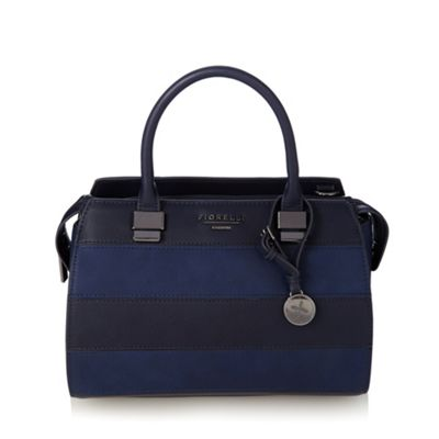Fiorelli Navy panelled grab bag - One Size.  Size - One Size