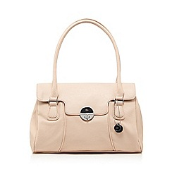 The Collection - Pale pink twist lock shoulder bag