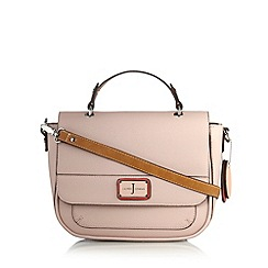 J by Jasper Conran - Designer pale pink satchel bag