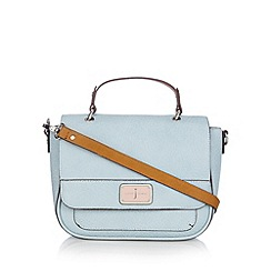 J by Jasper Conran - Designer pale blue satchel bag