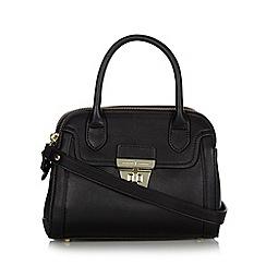 J by Jasper Conran - Designer black double zip dome bag