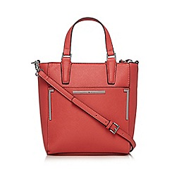 J by Jasper Conran - Designer coral bar detail small grab bag