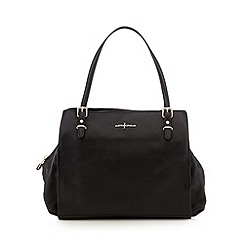 J by Jasper Conran - Designer black three section bowling bag