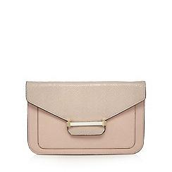 J by Jasper Conran - Designer pink enamel bar clutch bag