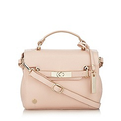 J by Jasper Conran - Designer pale pink leather belted mini cross body bag