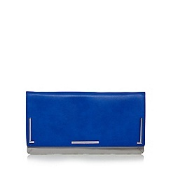 J by Jasper Conran - Designer blue long clutch bag