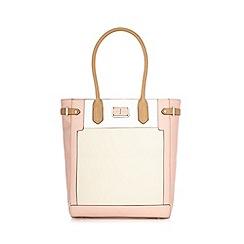 J by Jasper Conran - Designer pink logo plate grab bag