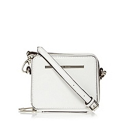 J by Jasper Conran - Designer white cross body box bag