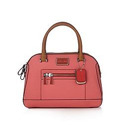 J by Jasper Conran - Designer pink curve zip grab bag