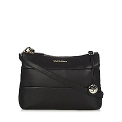 RJR.John Rocha - Designer black leather cross body bag