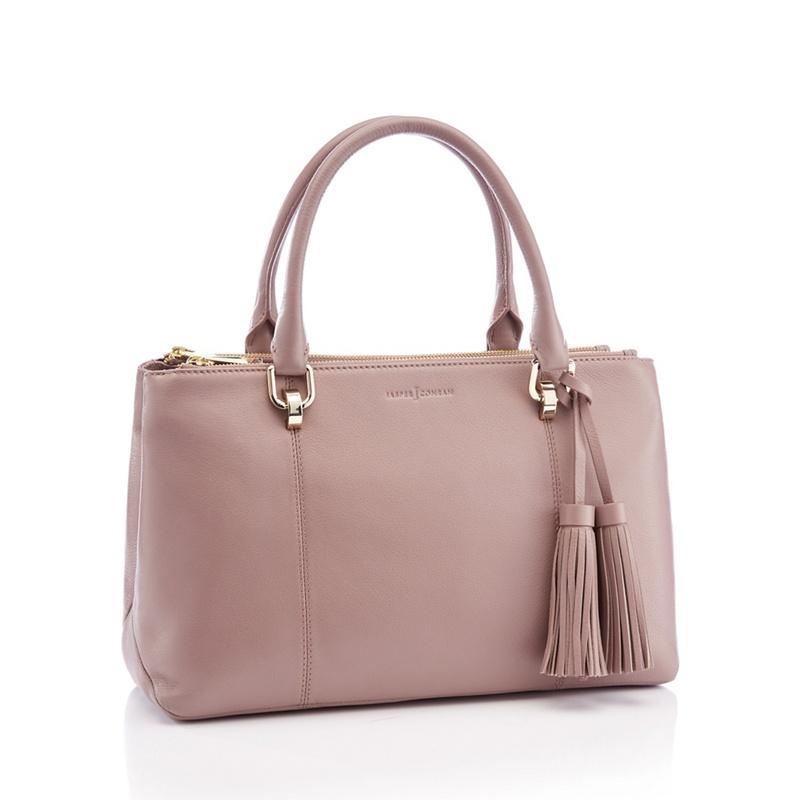 b78cfb320153 J by Jasper Conran - Pink Leather  Kew  Grab Bag