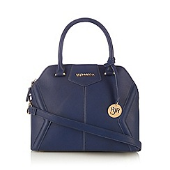 RJR.John Rocha - Designer navy panelled small dome tote bag