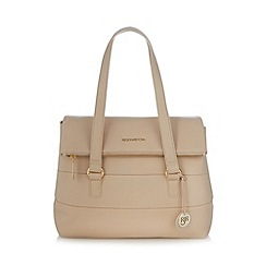 RJR.John Rocha - Designer cream leather grab bag