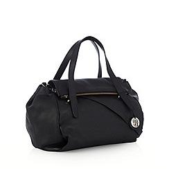 RJR.John Rocha - Designer black fold down bowler bag