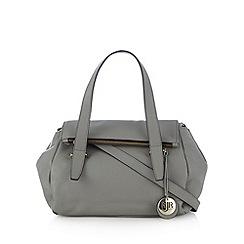RJR.John Rocha - Designer grey fold down bowler bag